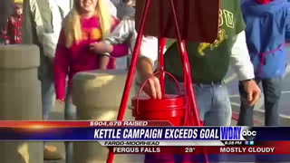 Red Kettle Campaign brings in more than 900,000 dollars