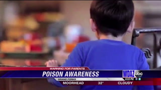 Poisonous items more accessible to children during spring cleaning