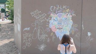 Community gets creative at ChalkFest