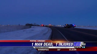Witness recalls deadly Fargo crash Wednesday morning