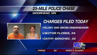 Flores, Sanchez to be convicted following 25-mile car chase Wednesday