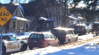 Shooting scene at 510 E. 11th Street in Duluth