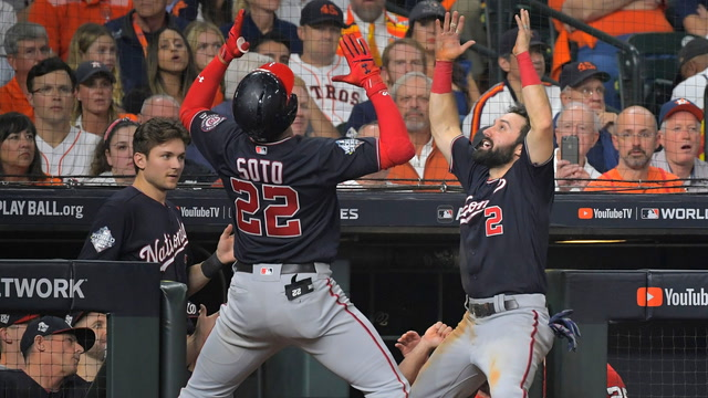 'It's been quite the road': Nats players on beating the Astros in Game 6