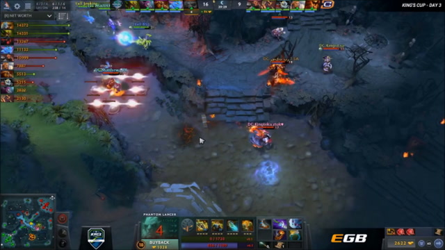 Epic Dunk - compLexity vs. Iceberg Game 1 - King's Cup America