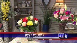 Mother's Day is two days away and local flower shops are ready