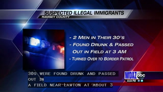 Suspected illegal immigrants found passed out in Ramsey County field