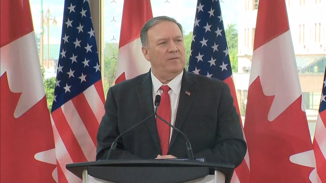 Pompeo says 'rescission' is part of a 'bigger discussion'