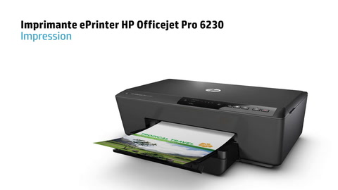 HP Officejet Pro 6230 e-All-in-One Printer – French