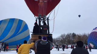 Hudson Hot Air Affair flight