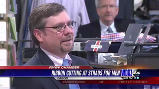 Straus for Men's newest location celebrates belated opening