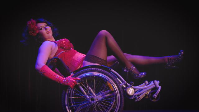 This Disabled Burlesque Performer Dances in Her Wheelchair