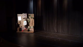 Scene from Bre'r Rabbit's Fox's Trap at Bemidji Theater Camp