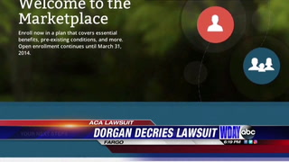 Former Senator Dorgan bashes ACA lawsuit
