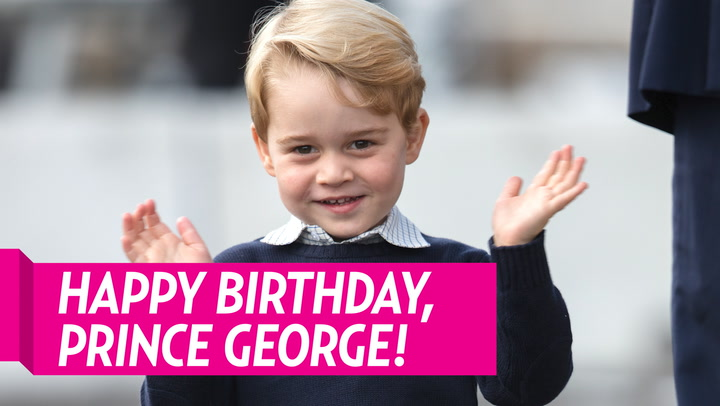 Prince Harry and Duchess Meghan Wish Prince George 'Lots of Love' on His 6th Birthday