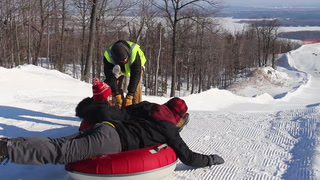 30 seconds with a lift operator at Spirit Mountain