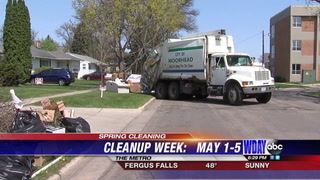 Spring cleanup week gives locals opportunity to rid homes of unwanted items
