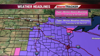 Snow Moving out by Midday