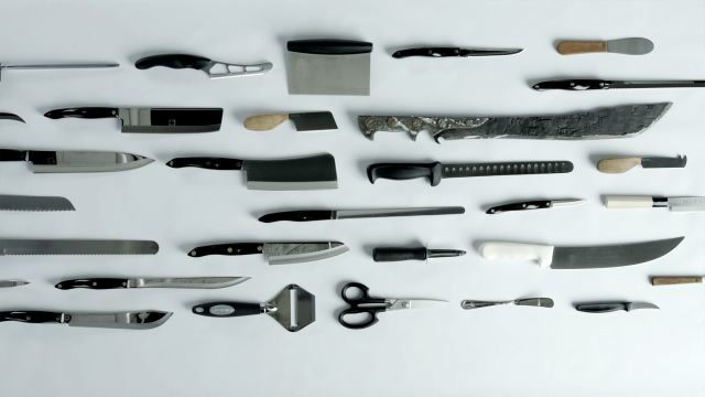 25 Knives, 47 Knife Skills For The Home Cook