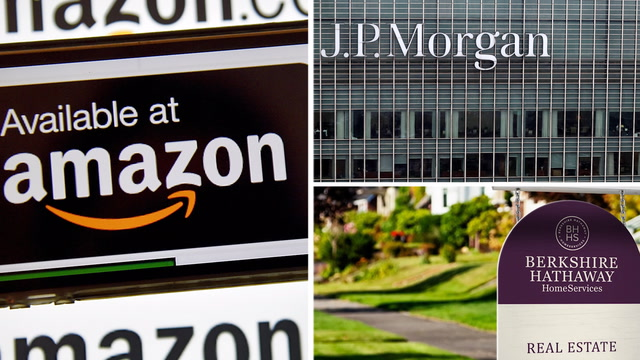 How Amazon, JP Morgan and Berkshire Hathaway might change health-care costs