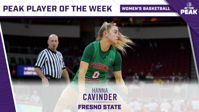 Mountain West Women's Basketball Player of the Week – Feb. 17