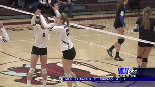 High school volleyball: Oak Grove tops Norman County East