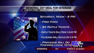 Free meals for veterans
