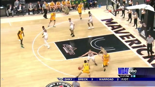 Bison men top Omaha; earn No. 5 seed for Summit League tournament