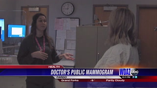Local physician receives first mammogram at age forty