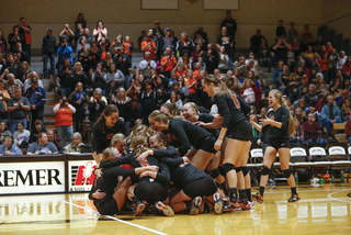 Tiger volleyball sizes up competition
