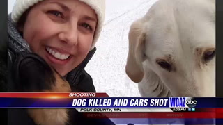 Family speaks out after dog dies from unexplained bullet wounds