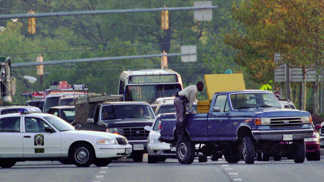 How the 'Beltway sniper attacks' unfolded