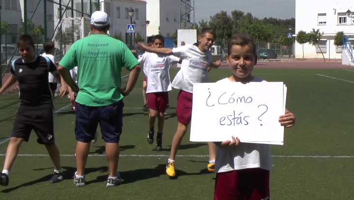 Sign in to access video: I am going to play football