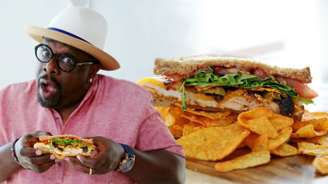 Cedric the Entertainer Makes a Grown-Ass Man-wich