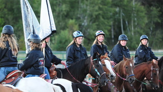 Crow Wing 4-H Horse Freestyle Drill Team