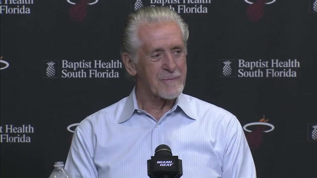 Pat Riley press conference (Part 1 of 3): On roster construction, shortened training camp