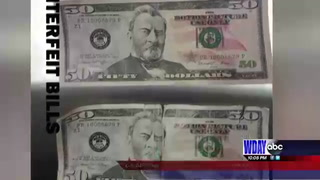 Counterfeit bills spotted in F-M area
