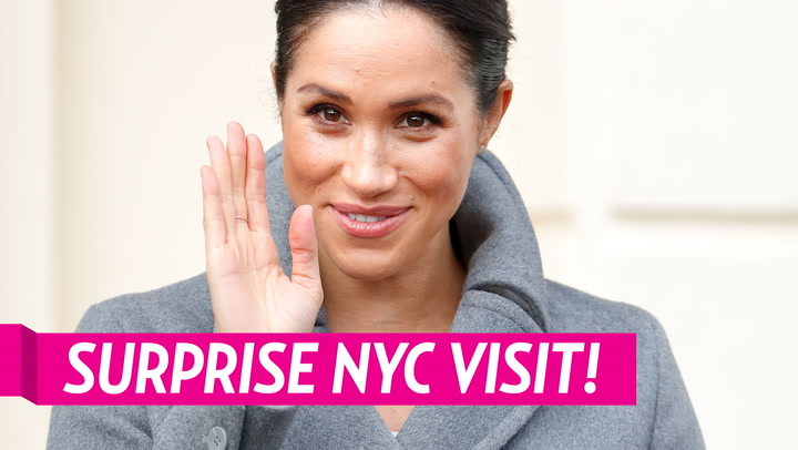 Duchess Meghan Makes Surprise Trip to New York City in Final Trimester of Her Pregnancy
