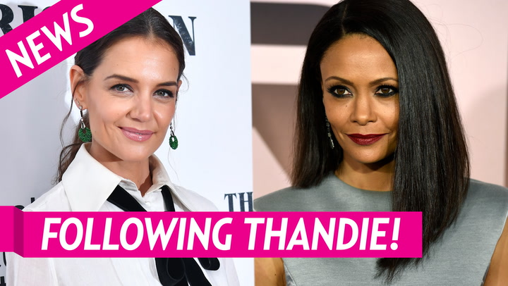 Katie Holmes Follows Thandie Newton on Instagram After Tom Cruise Comments