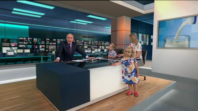 Raw: UK TV Show Overrun By Unruly Toddler