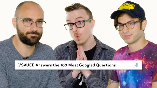 Vsauce Answers the 100 Most Googled Questions