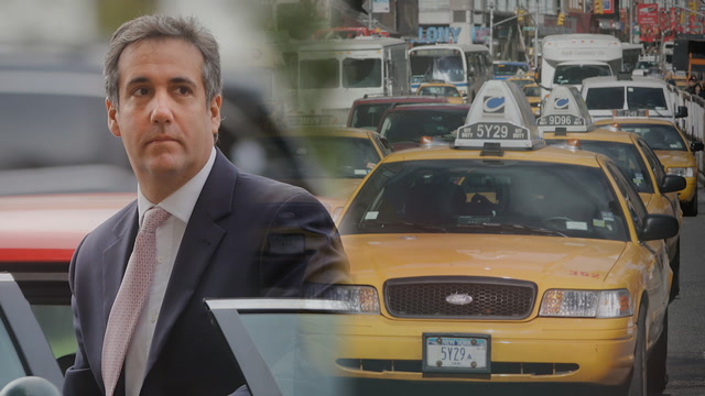 The boom and bust of Michael Cohen's taxi business