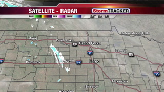 Chance for Flurries Today, Heavier Snow Southwest...