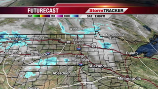 Partly Cloudy to Cloudy, Light Snow/Flurries Today
