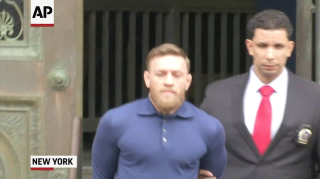Conor McGregor Facing Assault Charges