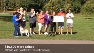 Woodridge Park community walk fundraiser