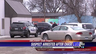 Fargo man makes citizen arrest after car chase