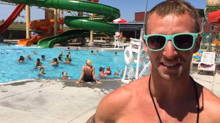 Dickinson waterpark draws large crowds on hot Tuesday
