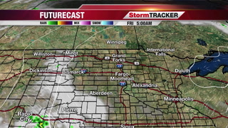 Chance for Storms Later on Saturday