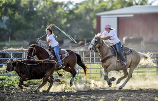 Glaus family thrive in the rodeo arena
