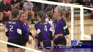 High School volleyball: Barnesville sweeps DGF
